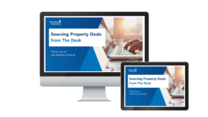 Sourcing Property Deals From The Desk Online Course Graphic